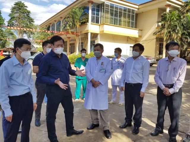 Sau 48 giờ khoanh vùng, truy vết, Bệnh viện tỉnh đã hoạt động trở lại - 3