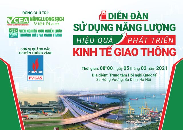 Sử dụng năng lượng hiệu quả phát triển kinh tế giao thông - 1