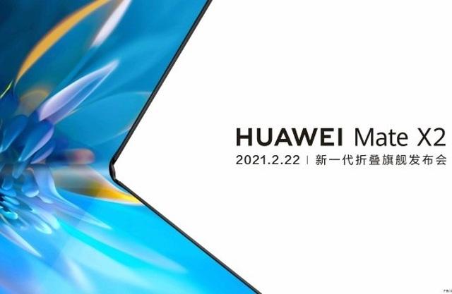 Huawei chốt thời điểm ra mắt smartphone màn hình gập Mate X2 - 1