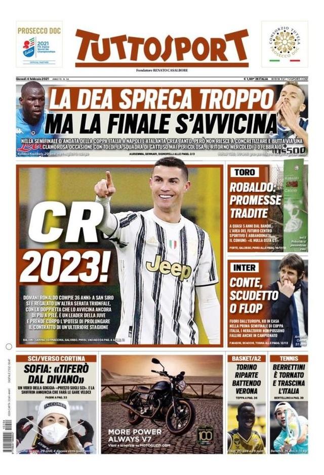 C.Ronaldo sắp nhận thưởng lớn từ Juventus - 1