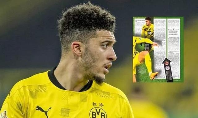 Dortmund đại hạ giá Jadon Sancho cho Man Utd - 1