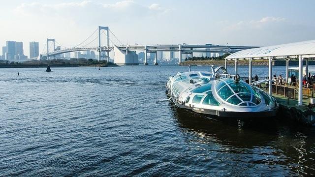 Xe buýt nước: Phương tiện giao thông độc đáo tại Tokyo - 1