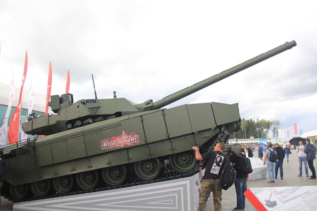 Xe tăng T-14 Armata bắt đầu được sản xuất hàng loạt - 2