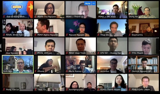 Cộng đồng người Việt tại New York gặp mặt trực tuyến đón Xuân Tân Sửu - 2