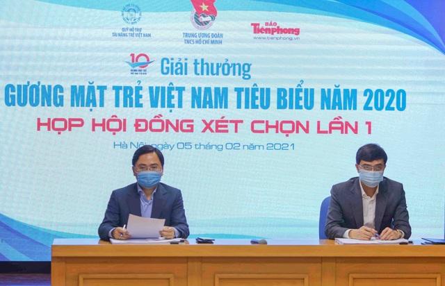 Công bố 20 đề cử Giải thưởng Gương mặt trẻ Việt Nam tiêu biểu năm 2020 - 1