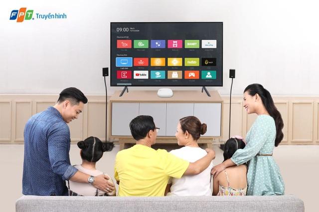 Truyền hình FPT nâng cấp số lượng kênh cho toàn bộ khách hàng - 1