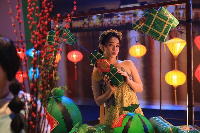 Nhật Kim Anh biến thành nữ thần mùa xuân trong MV mới - 1