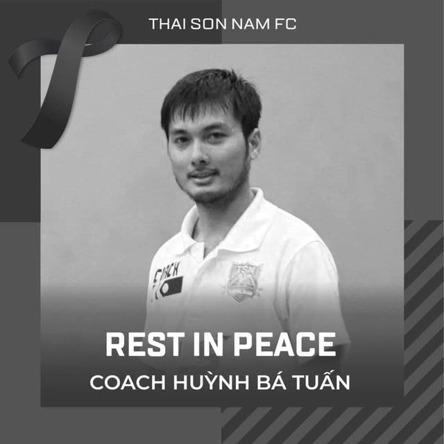 HLV futsal Huỳnh Bá Tuấn đột ngột qua đời - 2