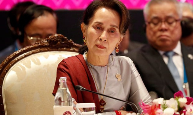 Hé lộ sức khỏe của bà Aung San Suu Kyi sau đảo chính ở Myanmar - 1