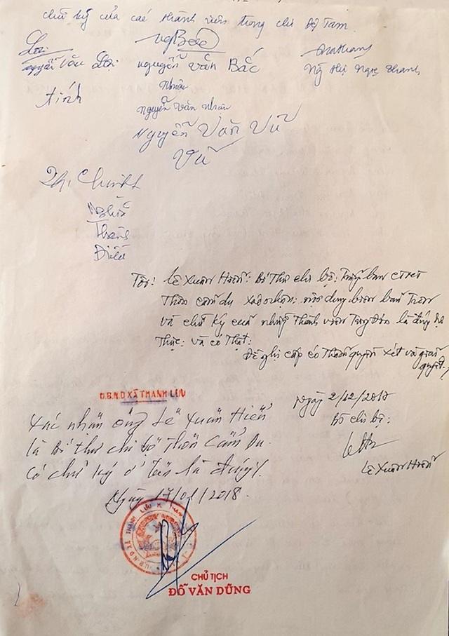Kiến nghị xử lý vụ chính quyền cấp sổ đỏ cho người đã chết tại Hà Nam - 5