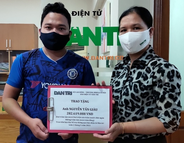 Bạn đọc Dân trí giúp đỡ cậu bé bị bệnh bạch cầu hơn 282 triệu đồng - 2