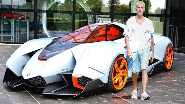 Ca sĩ Justin Bieber ra phố với chiếc Rolls-Royce cực dị - 15