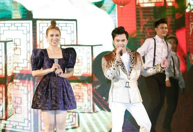 Nam Cường lần đầu kết hợp cùng Khánh Ngọc trên sân khấu - 7