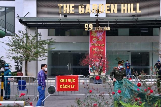 Hà Nội tiếp tục có 2 ca dương tính tại tòa nhà Garden Hill - 1