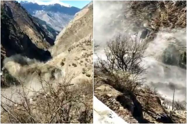Cận cảnh vụ vỡ sông băng kinh hoàng ở Ấn Độ - 5