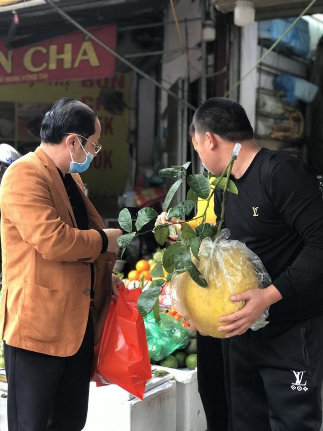 Giant grapefruit 10 kg / fruit, Hanoi people searching to buy to buy Tet - 2