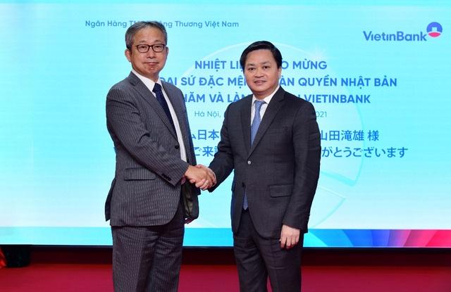 Đại sứ Đặc mệnh toàn quyền Nhật Bản thăm và làm việc tại VietinBank - 1