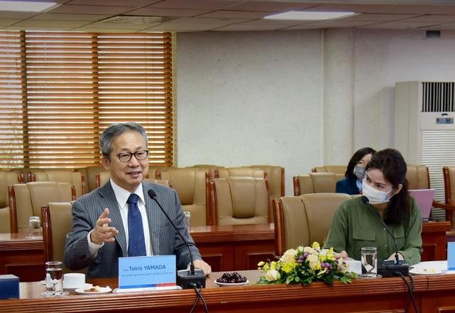 Đại sứ Đặc mệnh toàn quyền Nhật Bản thăm và làm việc tại VietinBank - 3