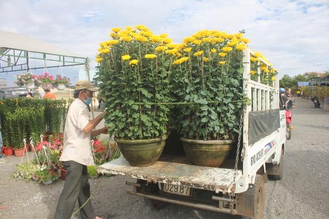Gia Lai: Người chở hoa nhọc nhằn kiếm tiền ngày cận Tết - 7