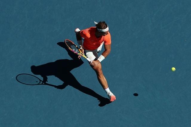 Australian Open: Bất chấp chấn thương, Nadal vẫn thắng nhanh gọn - 1
