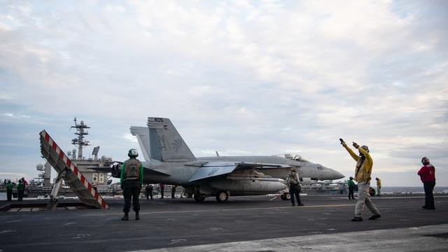 Hai nhóm tác chiến tàu sân bay Mỹ tập trận ở Biển Đông - 2