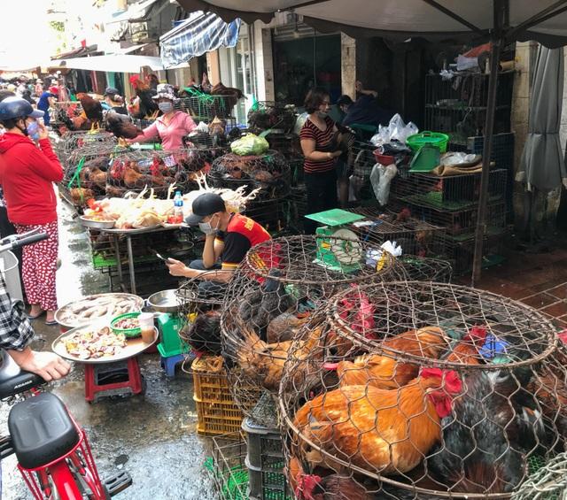 Hốt bạc từ gà, 6 người bán từ sáng đến khuya, không kịp về quê ăn Tết - 2