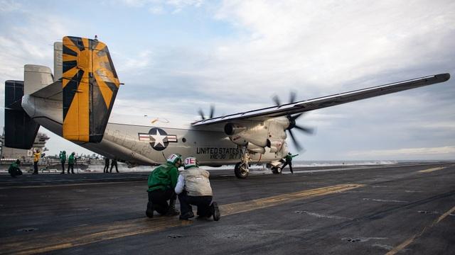 Hai nhóm tác chiến tàu sân bay Mỹ tập trận ở Biển Đông - 7