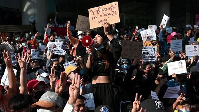 Hệ thống xét nghiệm Covid-19 tại Myanmar sụp đổ vì biểu tình lan rộng - 1