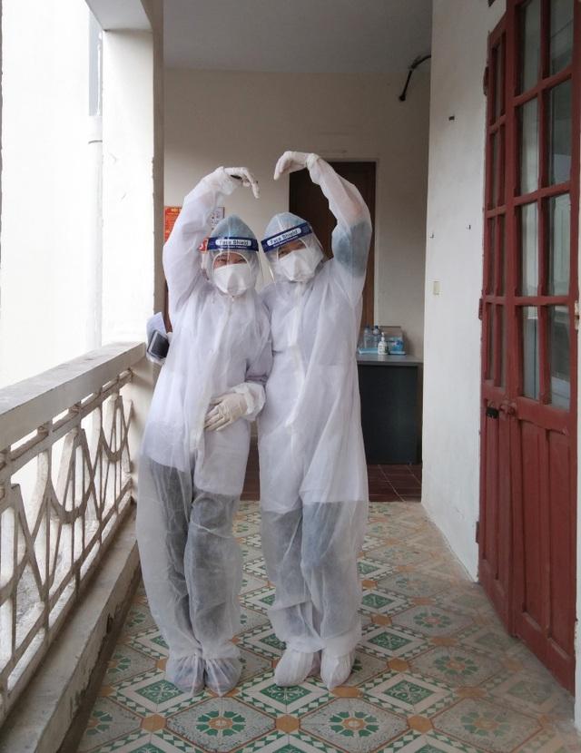 Hải Dương: Sinh viên không về ăn Tết, tình nguyện tới tuyến đầu chống dịch - 2