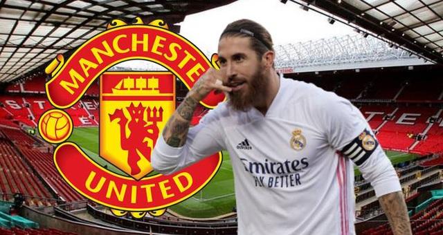 Real Madrid buông tay, Man Utd gây sốc với Sergio Ramos - 1