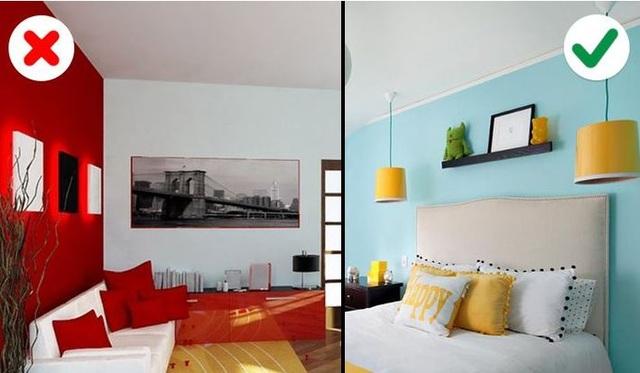 Sai lầm chọn màu sắc khiến căn nhà lộn xộn, xấu xí nhiều người mắc - 5