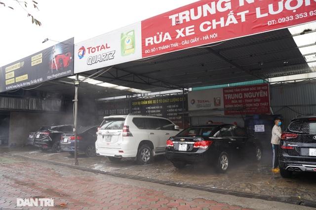 Dịch vụ rửa xe ở Hà Nội hốt bạc dịp Tết Nguyên đán, giá tăng cao gấp 4 lần - 2