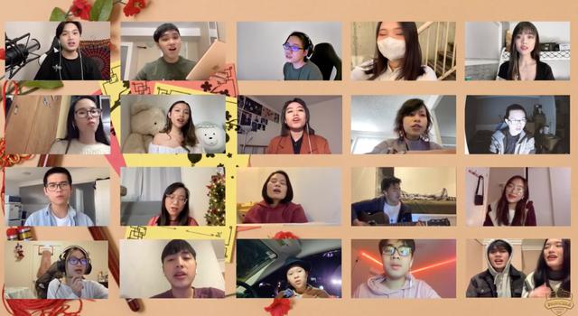 Du học sinh Việt trên thế giới ca vang lời chúc, hướng về quê nhà - 1