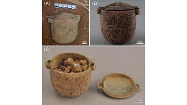 Phát hiện kem dưỡng da 2.700 năm dùng cho nam giới trong mộ quý tộc cổ đại - 1