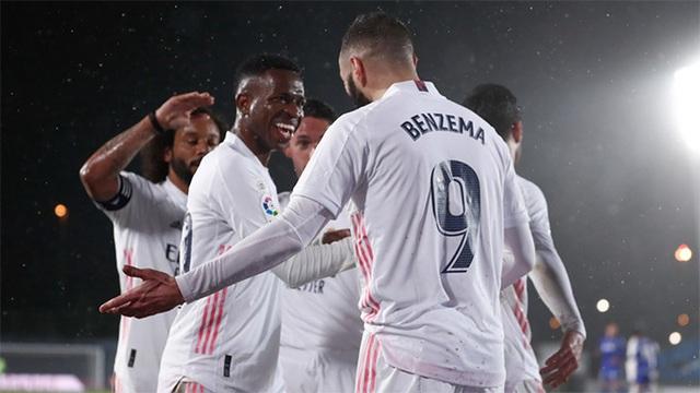 Đánh bại Getafe, Real Madrid chỉ còn kém Atletico 5 điểm - 6