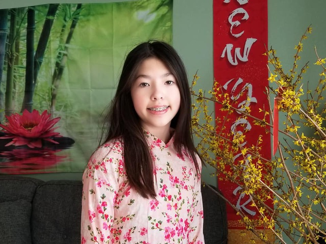 Ông bố Mỹ hát Thương ca tiếng Việt cùng con gái đón Tết Tân Sửu - 4