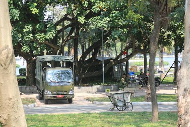 Trận địa pháo hoa tại điểm bắn duy nhất ở Hà Nội - 2