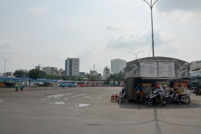 Bến xe Miền Đông vắng hoe ngày 30 Tết - 7