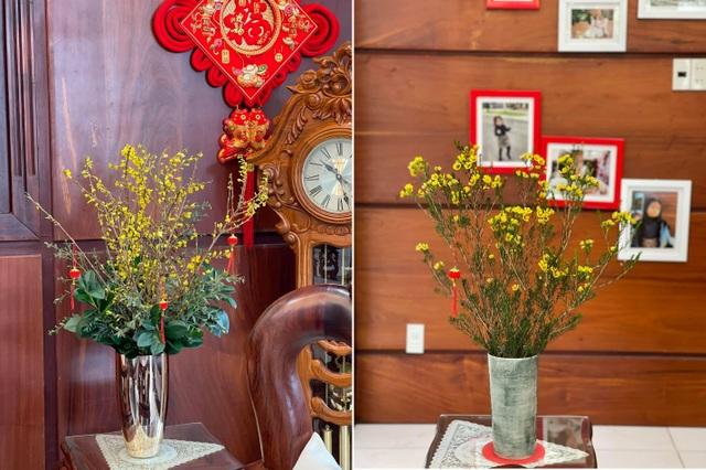 Căn biệt thự ngập hoa Tết của diễn viên Vân Trang - 4