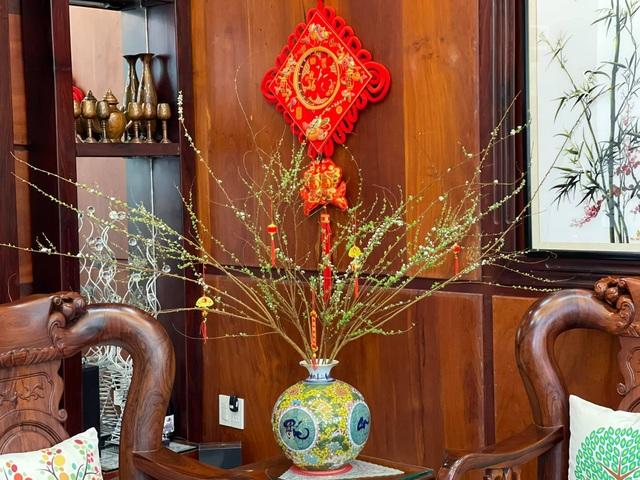 Căn biệt thự ngập hoa Tết của diễn viên Vân Trang - 6
