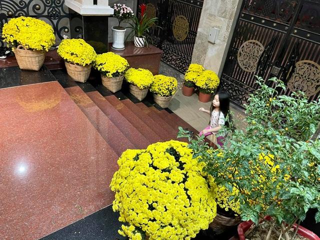 Căn biệt thự ngập hoa Tết của diễn viên Vân Trang - 2