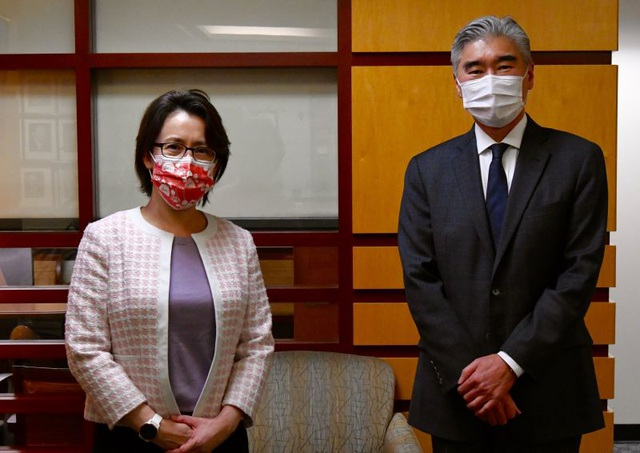 Đài Loan, Mỹ tổ chức cuộc gặp chính thức đầu tiên dưới thời Biden - 1