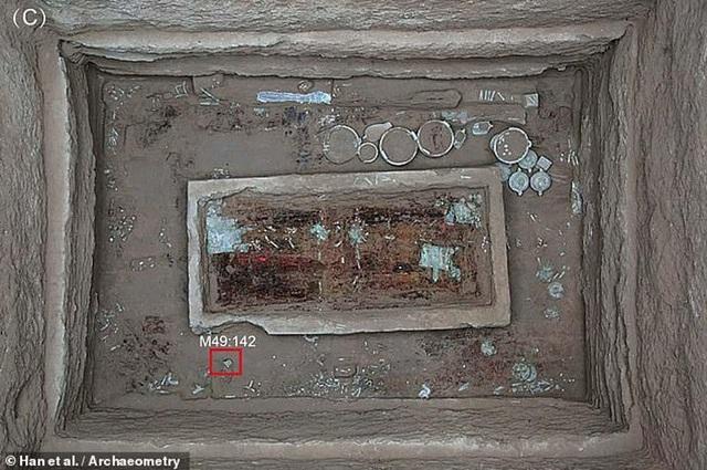 Tìm thấy kem dưỡng da 2.700 năm tuổi trong lăng mộ quý tộc Trung Quốc - 2