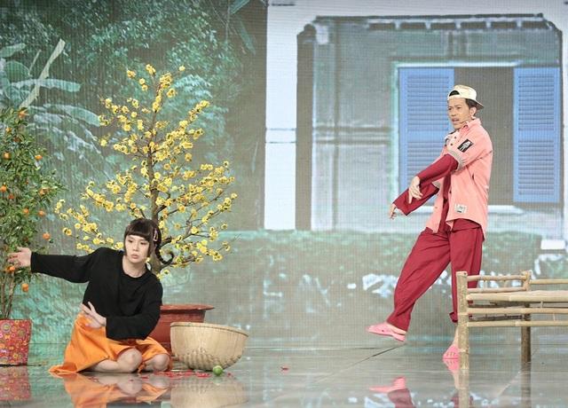 Hoài Linh gây bất ngờ khi hóa rapper Binz cực chất - 3