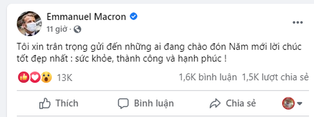 Tổng thống Pháp chúc Tết bằng tiếng Việt - 2