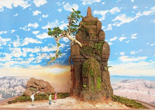 Người đàn ông Nha Trang sở hữu hàng nghìn bonsai, tiểu cảnh mini - 6