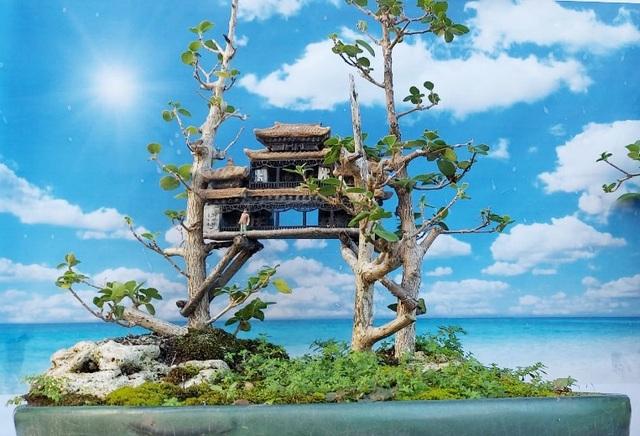 Người đàn ông Nha Trang sở hữu hàng nghìn bonsai, tiểu cảnh mini - 5