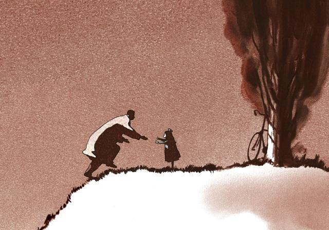 Father and Daughter: Bộ phim hoạt hình gây ám ảnh suốt hơn hai thập kỷ - 1