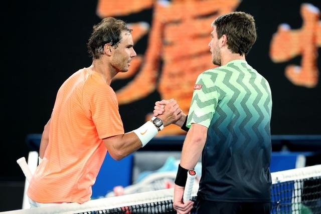 Australian Open: Nadal giành tấm vé cuối cùng vào vòng bốn - 2