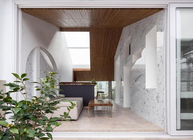 Biệt thự trắng hoành tráng ở con phố sầm uất bậc nhất Hà Nội - 12